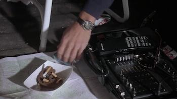 A cigarette butt sandwich - the breakfast of champions
